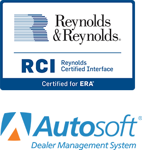 Certified Integration with the top Automotive DMS Providers