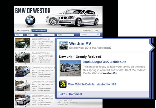 Dealer Inventory Management Inventory Internet Marketing Dealer Websites Ebay Motors Vehicle Listing Software Auction123 Com